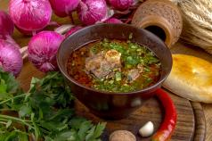 Суп харчо рецепт с картошкой и рисом